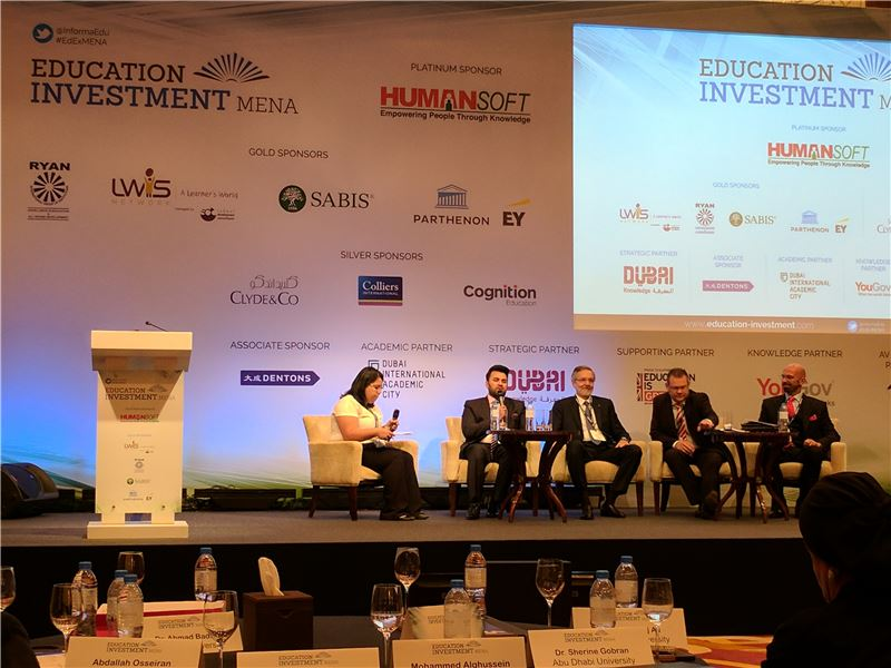 SABIS® Speaks at Education Investment MENA Conference in Dubai