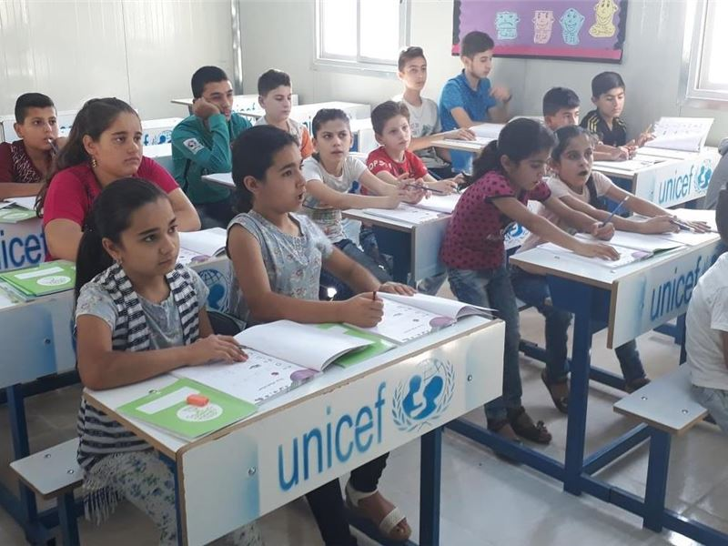 SABIS® Teams with UNICEF to Educate Refugee Children