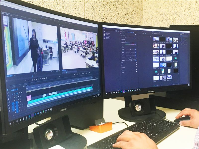 State-of-the-Art Studio Ensures Exceptional Online Learning Experience